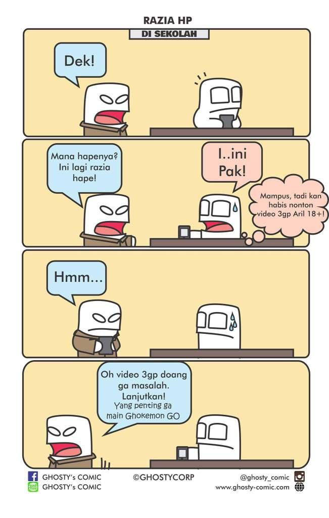 Bonus dari Ghosty Comic